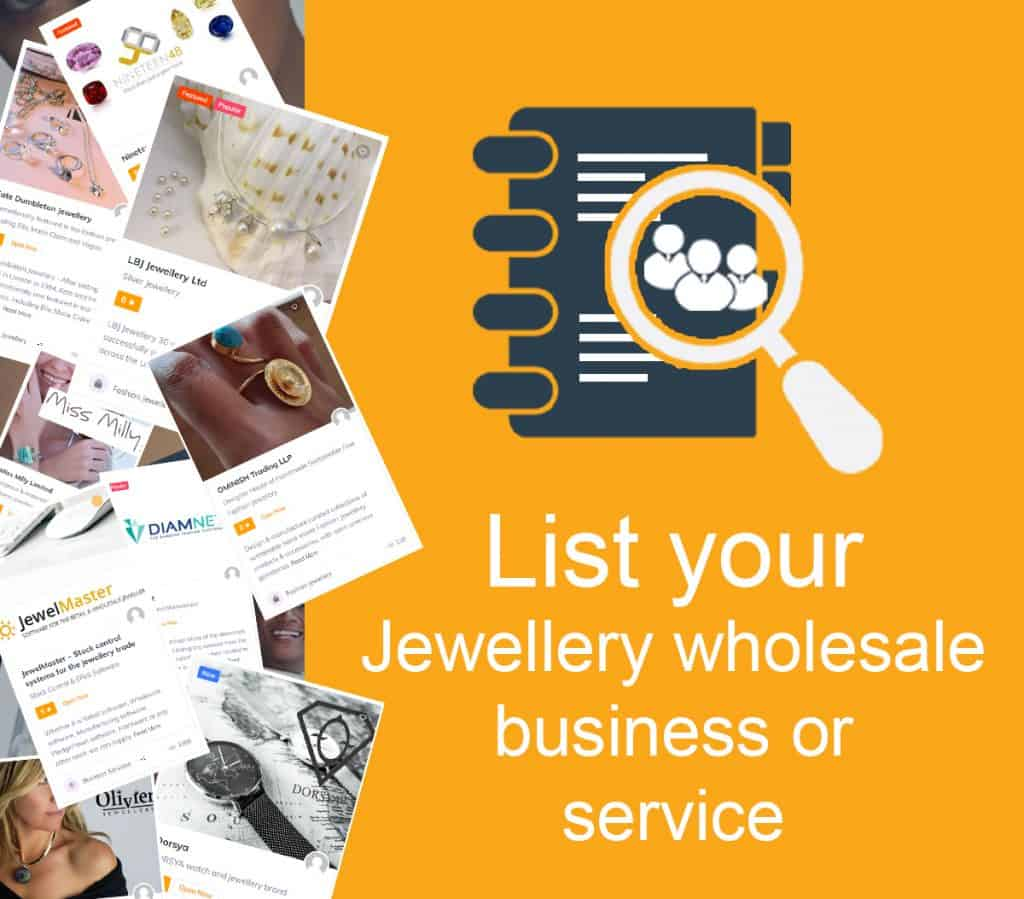 List your jewellery business